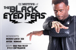 DJ группы The Black Eyed Peas выступит в Enerji Club • Lounge • Dining