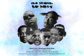 """Old School Rap Party"" в Black City Café"