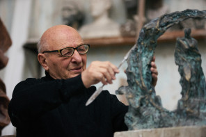 Passions of monument sculptor