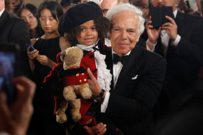 Anniversary Show of Ralph Lauren in New York