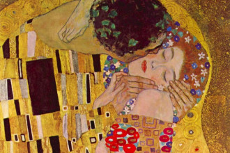 """KISS"" by Gustav Klimt"